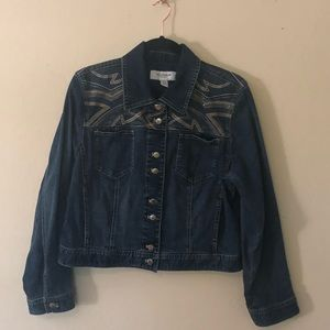 CHICO'S denim jacket | 2